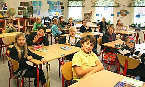 roliga aktiviteter i klassrummet